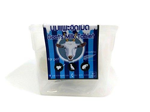 Goat Milk Mozzarella (Brown Sugar Pet Store Goat Milk Tablet for Sugar Glider, Loris, Marmoset, Squirrel 30 g.)