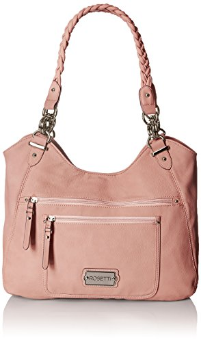 Rosetti Power Play Candace Double Handle Tote Bag, Peony, One Size Double Handle Tote Bag