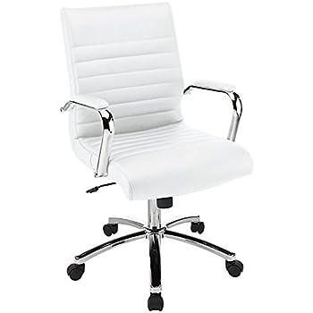 Amazon Com Realspace R Modern Comfort Series Cassia Mid