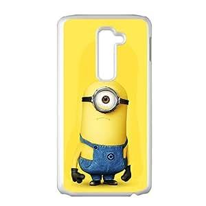 SKULL Lovely Minions Cell Phone Case for LG G2