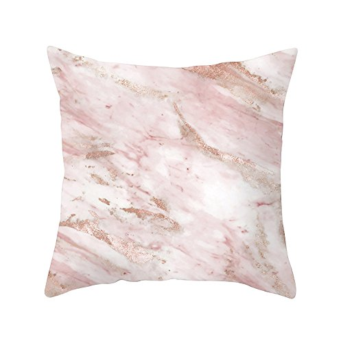 Paisley Needlepoint Brown (iZHH Geometric Marble Texture Throw Pillow Case Cushion Cover Sofa Home Decor)