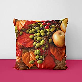 41p88unw3RL. SS320 Fruit Square Design Printed Cushion Cover