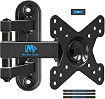 Mounting Dream Full Motion TV Monitor Wall Mount Bracket for 10-26 Inch LED, LCD Flat Screen TV and Monitors, Mount with...