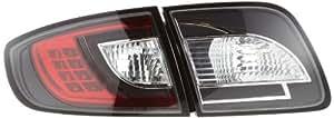 FK Automotive FKRLXLMA010013 Montaje de Luces Traseras LED, Color Negro
