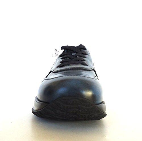 Chaussures Interactives Pour Hommes Hogan N. Mod. H Réseau Hxm00n0y7209xf439b Noir + Persia