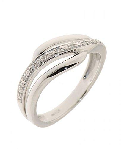 Bague Or 750 Diamant ref 35955