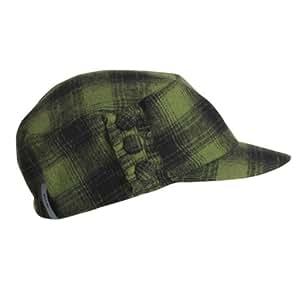 Fu-r Headwear Women's LL Betty Wool Brim Cap, Green, One Size