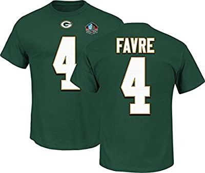 Green Bay Packers Brett Favre Green Hall of Fame Eligible Receiver T-Shirt