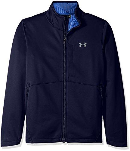Under Armour Outerwear Under Armour Men's Storm Softershell Jacket, Midnight Navy/Steel, Medium -