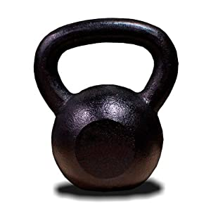 New MTN 45 lbs (1pc) Solid Cast Iron Kettlebell (Kettle Bell) Lowest Price, Fastest Priority Shipment
