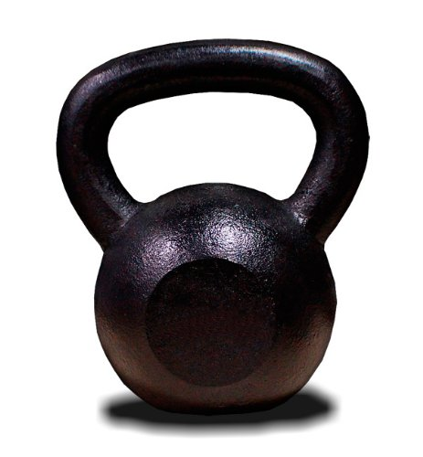 New MTN 20 lbs (1pc) Solid Cast Iron Kettlebell (Kettle Bell) - Lowest Price, Fastest Priority Shipment