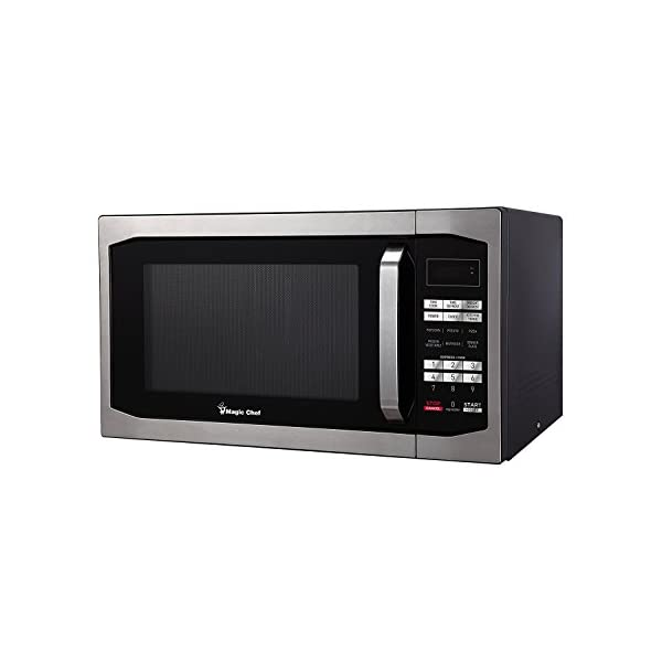 Magic Chef MCM1611ST 1100W Oven, 1.6 cu.ft, Stainless Steel Microwave 2