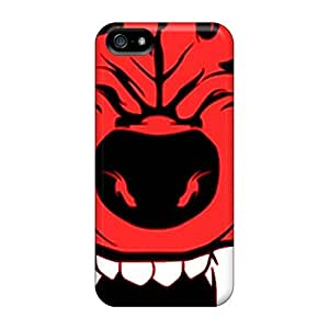 Defender Case With Nice Appearance (wolfpack) For Iphone 5/5s