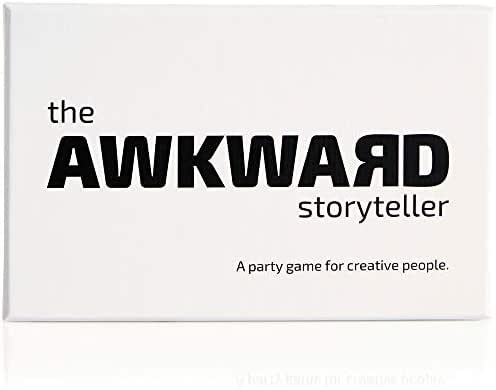 The Awkward Storyteller, Party Game That Involves Everyone in Fun, Laughter, and Creative Story-Telling, for 4-11 Players, Ages 16+
