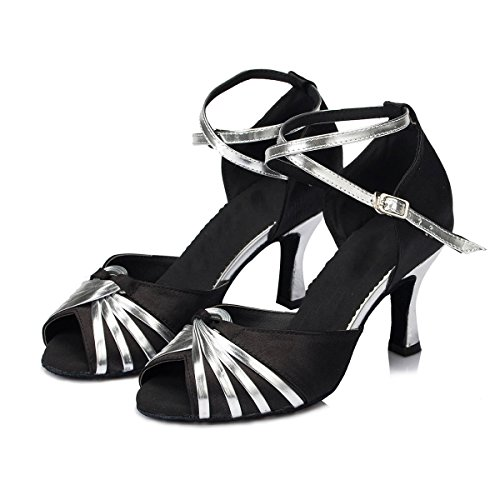Dance Black Ballroom KAI Shoe Latin Low Wedding Salsa ROAD Women Dance Heels Shoes Heel E5Zw5cOfqy