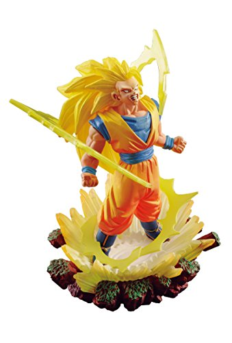 Megahouse Dragon Ball Super: Dracap Memorial Statue 03: Saiyan 3 Son Goku PVC Figure