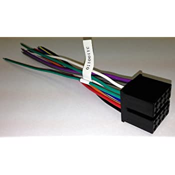 amazon.com: xtenzi wire harness for jensen phase linear ... phase 6 3 wire motor wiring diagram phase linear uv8020 wire harness