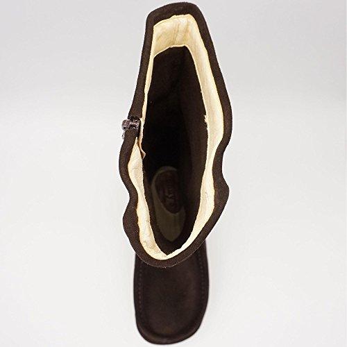 Jonny's - Botas de Piel para mujer marrón marrón