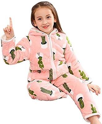 Camisones Pijama Pijamas de Franela de Invierno para niños ...
