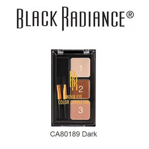 2-Pack Black Radiance Under Eye Color Corrector A8019 Dark