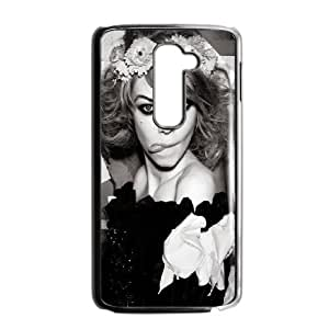Celebrities Siri Tollerod Black And White LG G2 Cell Phone Case Black phone component RT_340265