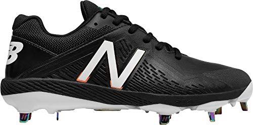 New Balance Women's FUSEV1 Metal Fast Pitch Softball Baseball Shoe, White, 7.5 B US (Fastpitch Cleats Metal)