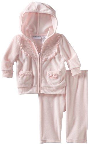 Calvin Klein Baby-Girls Newborn Hooded Jacket With Pants