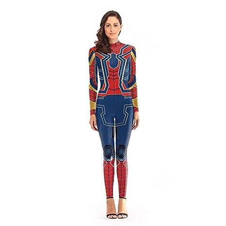 thematys Traje de Spiderman para Damas - Traje Spiderman con ...