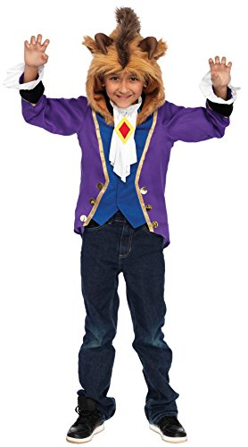 Beast Boy Costume For Kids (Beast Child Costume: Medium)