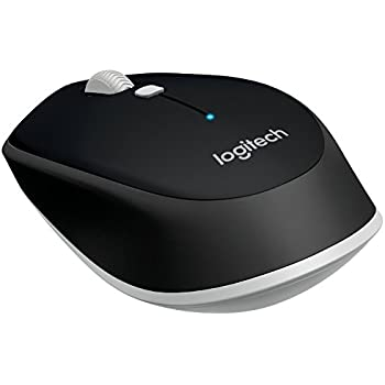 Logitech M535 Compact Bluetooth Wireless Optical Mouse for Mac, Windows, Chrome OS and Android Devices – Black