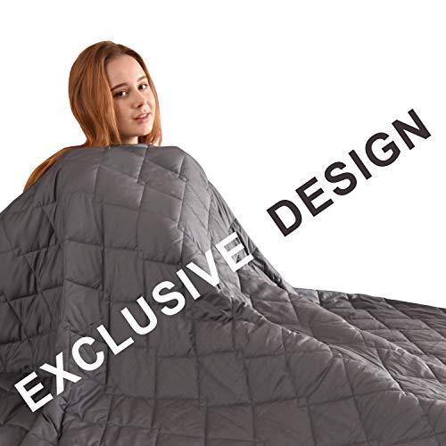 Cheap FAHUA Original Weighted Blanket 20 lbs 60
