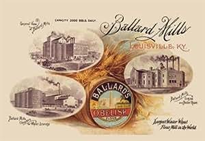 Ballard's Obelisk Flour 28x42 Giclee On Canvas