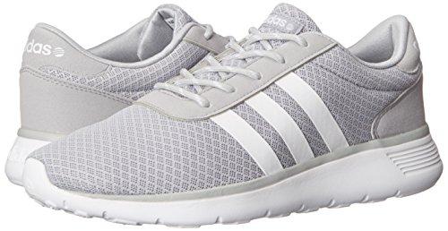reputable site 864fd c2548 Adidas NEO Women s Lite Racer Running Shoe,Clear Onix Running White Running  White