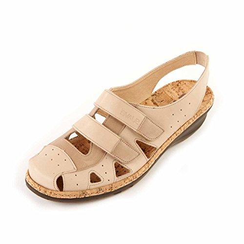 Lazutom - Sandalias de vestir para mujer, color blanco, talla 40 EU