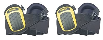 DEWALT DG5204 Professional Kneepads with Layered Gel and Neoprene Fabric Liner (2-(Pack))