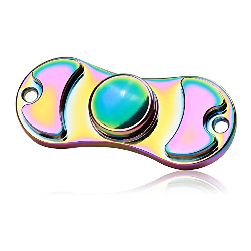 SpinnerGuys Hand Fidget Spinner Toy, Metal, High Speed between 3-4 Mins, EDC Gift for Kids and Adults Killing Time, Good for ADHD Anxiety Focus (4 People Costume Ideas)