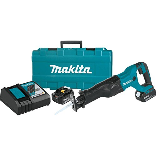 Cordless Recipro Saw Kit - Makita XRJ04T 18V LXT Lithium-Ion Cordless Recipro Saw Kit (5.0Ah)