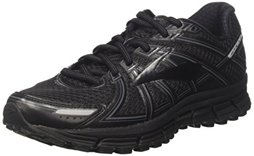 Brooks Women's Adrenaline GTS 17 Black/Anthracite 6 B US (Womens Brooks Adrenaline Gts)