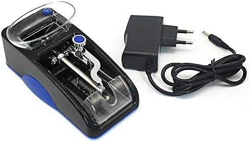 電動タバコラミネート機喫煙タバコパイプ自動インジェクターメーカーローラーDIY喫煙ツール使いやすい、2個、赤、ヨーロッパプラグ