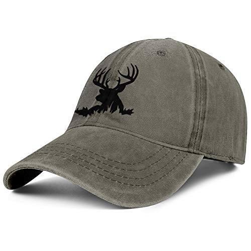 for Men Cowboys Cap Winchester Repeating Arms Logo Embroidered Casual Baseball Denim Caps ()