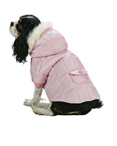 Fashion Pet Everest Snow Parka - LG Pink