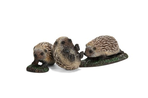 Schleich 14623 - Figura/ miniatura Los animales del bosque, los niños erizos