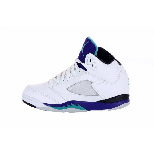 Jordan 5 Retro Little Kids Style: 440889-108 Size: 13.5 M (White) (Jordan Retro 6 Shoes Size 8)