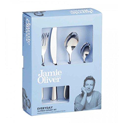 Jamie Oliver Every Day Besteck 16-teilig: Amazon.de: Küche & Haushalt