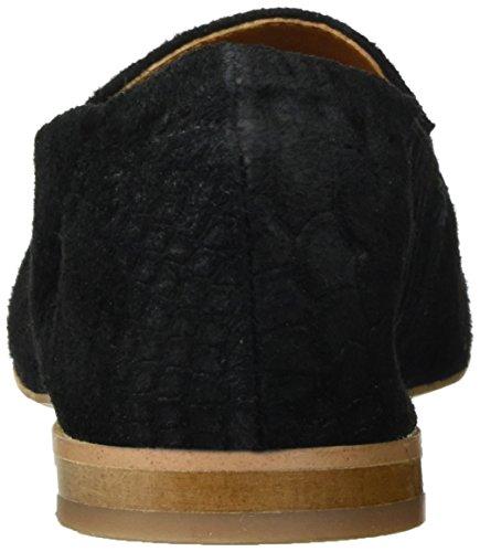 Bianco Spitzer Loafer - Mocasines Mujer Schwarz (Black)