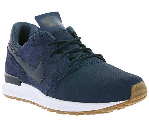 Nike, Uomo, Air Berwuda PRM Obsidian, Suede/Nylon, Sneakers, Blu Blu