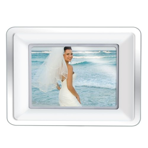 Amazon.com : Coby DP802 8-Inch Widescreen Digital Photo Frame with MP3 Player, Two Interchangeable Acrylic (White, Black) : Digital Picture Frames : Camera ...