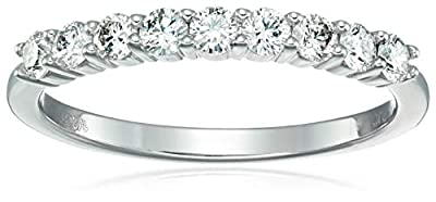 1/2 cttw AGS Certified I1-I2 Diamond Wedding Band 14k Gold (H-I)