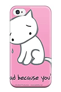Nafeesa J. Hopkins's Shop Defender Case For Iphone 4/4s, Crying Cat Pattern 8607506K74176485