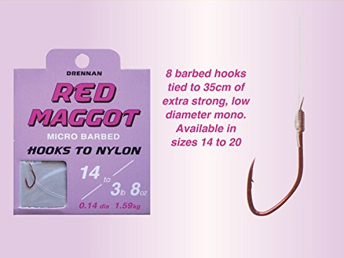Drennan fine match micro barb hooks 3 packs minimum order